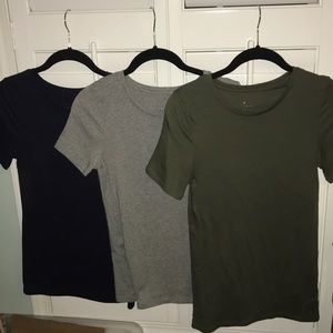 3 fitted soft shirts A New Day